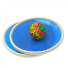 Como Blue Sticky Ball Game with 32 Suction Cup and 2 Round Bats
