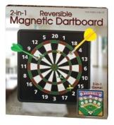 Reversible Magnetic Dartboard