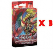 YuGiOh 3x Onslaught of the Fire Kings Structure Deck