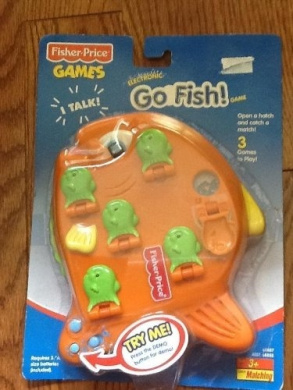 fisher price games electronic go fish game 68887 by