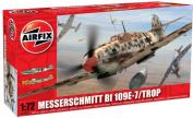 Airfix A02062 Messerschmitt Bf109E - Tropical 1:72 Scale Series 2 Plastic Model Kit