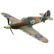 Corgi Toys 1:72 Scale Flight Hawker Hurricane Mkii Wwii Military Die Cast Aircraft