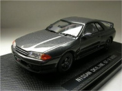 Nissan Skyline GTR R32 1989 Gunmetal Grey 1/43 Scale Diecast Model