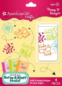 American Girl Crafts Scrap and Stuff Stamp It Designs Self-Inking Stamps