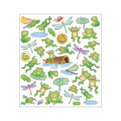 Multi-Coloured Stickers-Leap Frogs