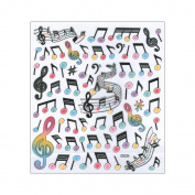 Multicoloured Stickers-Modern Music