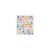 Multicoloured Stickers-Tropical Letters