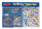 """Melissa & Doug Peel and Press """"Stained Glass"""" Undersea Fantasy"""