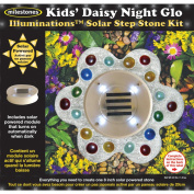 Illuminations Solar Stepping Stone Kit-Kids' Daisy Night Glow