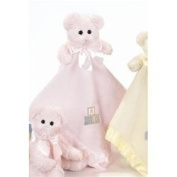 Pink Bear Hugs Blankie by Bearington - 1955
