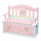 Levels of Discovery Fairy Wishes Bench Seat w/ Storage