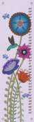Oopsy daisy Hummingbird Garden Growth Chart by Libby Ellis, 30cm by 110cm