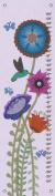 Oopsy daisy Hummingbird Garden Growth Chart by Libby Ellis, 30cm by 110cm