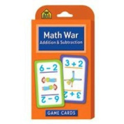 20 Pack SCHOOL ZONE PUBLISHING MATH WAR ADDITION & SUBTRACTION