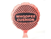 Funny Self-Inflating Whoopee Cushion (Red and Black). shiping