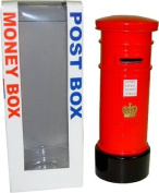 London Red Post Box Money Box Made of Die Cast Metal, London Collectable Souv...