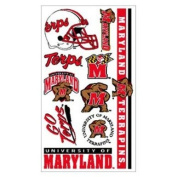 Maryland Terrapins Official NCAA 10cm x 18cm Temporary Tattoos by Wincraft