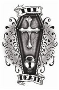 Til Death Temporary Tattoo