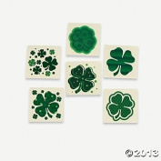 SHAMROCK PATTERNED TATTOOS (6 DOZEN) - BULK