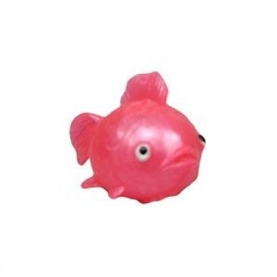 Splat Ball Novelty Squishy Toy Pink Fish by SplatBack - Shop Online for Toys in Australia