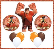 Disney Wreck-It Ralph 80cm Ralph Birthday Jumbo Mylar Foil Balloon Set - Children's Party Supplies