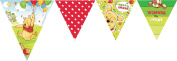 Amscan Disney Winnie The Pooh And Piglet Pennant Banner