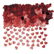 Amazing Red Loving Hearts Wedding Party Table Confetti - 14g Red Heart Valentine Table confetti pack