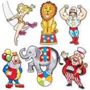 Carnival Cutouts Party Supplies
