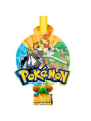 Pokemon Blowouts (8) Party Supplies