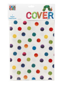Kids Birthday Party Supplies & Decorations Table Cover Eric Carle Hungry Caterpillar Polka Dots Colourful 1.2m x 1.8m Paper