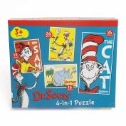 4-in-1 Dr Seuss Puzzle