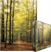 Eurographics EUROPZ-3846 Jigsaw Puzzle 1000 Pieces 49cm . X70cm . -Forest Path