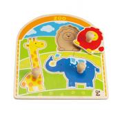 Hape E1302 At the Zoo Knob Puzzle