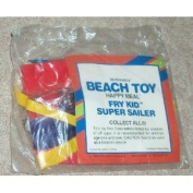 "McDonalds - BEACH TOY - ""FRY KID SUPER SAILOR"" Inflatable - 1989"