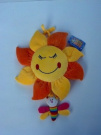 Soft and Plush Hanging Musical Sun or Musical Flower for Baby Crib and Stroller