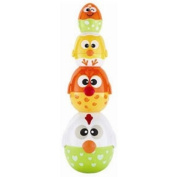 Kid Connexion Chicken/Egg Stacking Cup Toy
