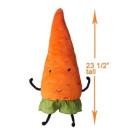 Ikea Torva Carrot Soft Toy , Orange Colour, 60cm Tall