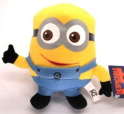 Despicable Me Movie Cartoon Minion Dave 15cm Plush Soft Stuffed Figure Doll Toy