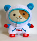 Sinjin - Official San-X Space Hamster 20cm Plush Doll