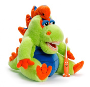 Plush Dental Educational Personality - Lil Farley Flossisaurus