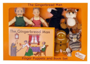 The Puppet Company Traditional Story Sets The Gingerbread Man Finger Puppet Set