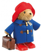 Paddington Bear Large Classic with Boots Suitcase - Random Colour