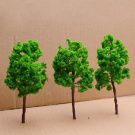 Model Tree Train Set Scenery Landscape OO O - 10PCS