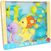 HUGFUN International Plush Baby Tropical Fish Toy Gift Set
