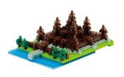 Kawada Nanoblock Angkor Wat Cambodia-NBH-032