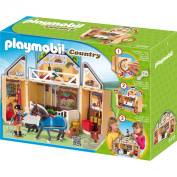 Playmobil 5418 Folding game - Stables
