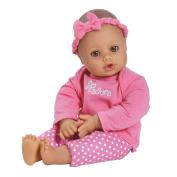 Adora Playtime Medium Skin with Brown Eyes 33cm Baby Doll, Pink