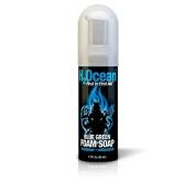 1.7oz H2Ocean Blue Green Foam Soap Tattoo & Piercing Aftercare