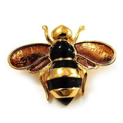 Gold Plated Bee Pin