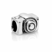 Chuvora Sterling Silver Reflections Camera Bead Charm Fits Pandora Bracelet